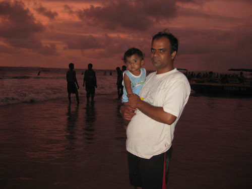 With Romir in Colva Beach