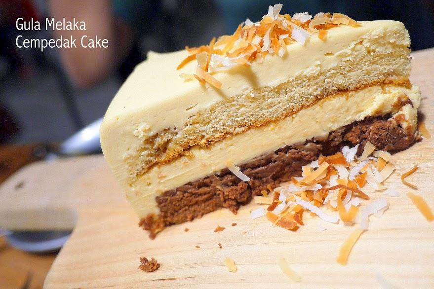 gula melaka cempedak cake