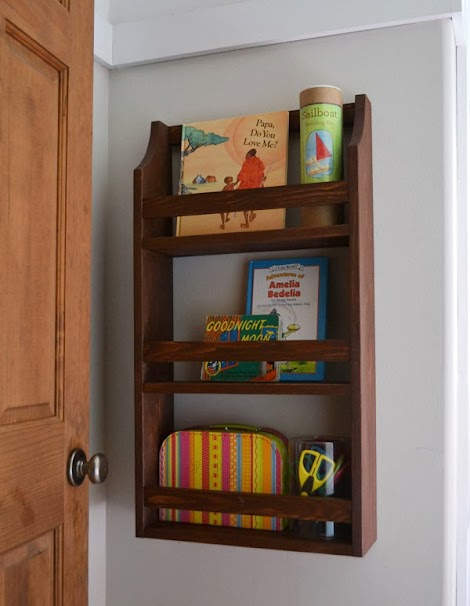 Ana White Hailey Wall Magazine Shelf Diy Projects