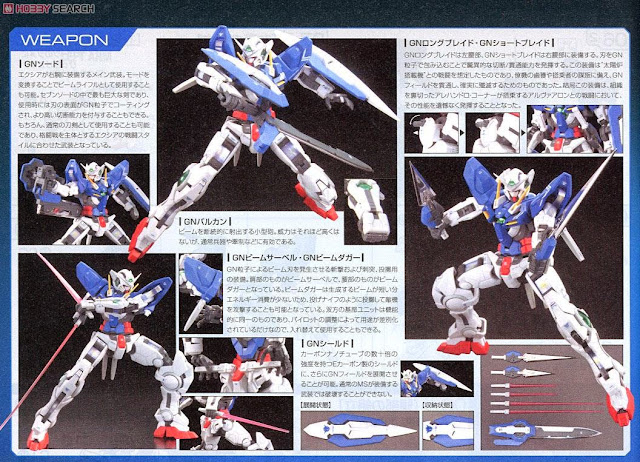 Mô hình Gundam Exia RG 1/144 sống động thực sự đẳng cấp