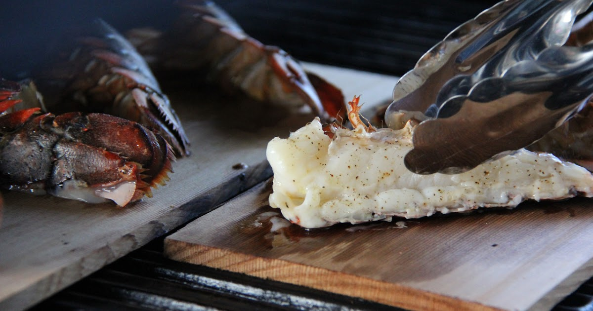 How to Make Cedar Plank Lobster Tails