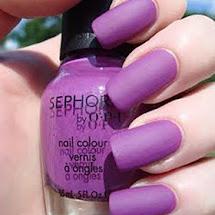 Esmalte fosco lilás