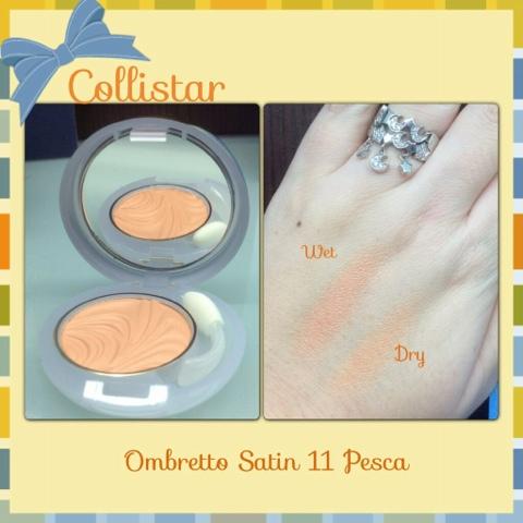 Collistar Ombretto Satin Primer + Colore nr. 11 Pesca