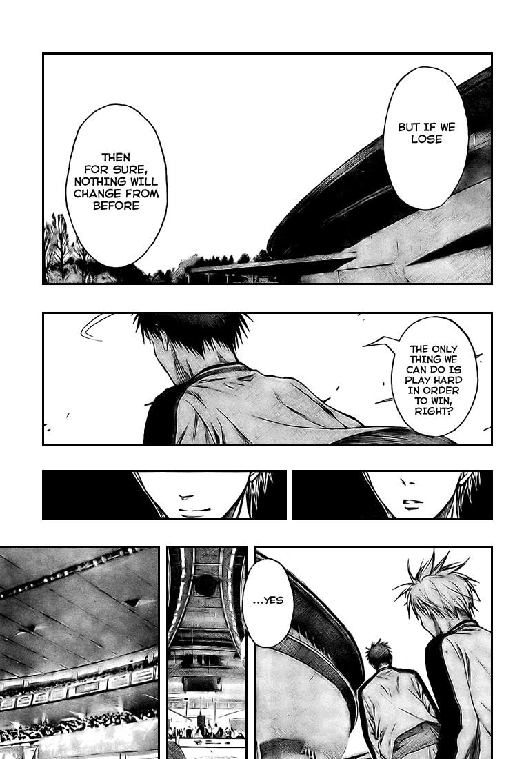Kuroko no Basket Manga Chapter 124 - Image 17