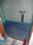 Fußbodenheizung im Gäste-WC
