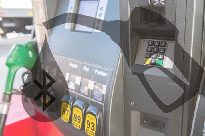 Skimmer Bluetooth en gasolineras