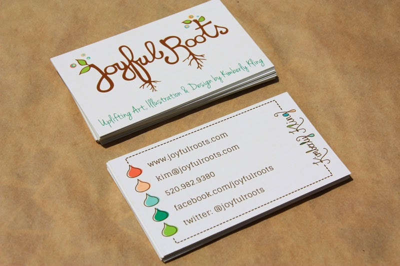 New business cards make me joyful joyful roots botanical joyful roots business cards design and graphic design reheart Choice Image