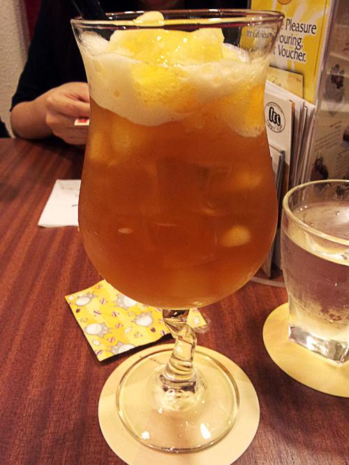 Passion yuzu tea