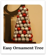 Easy Ornament Tree