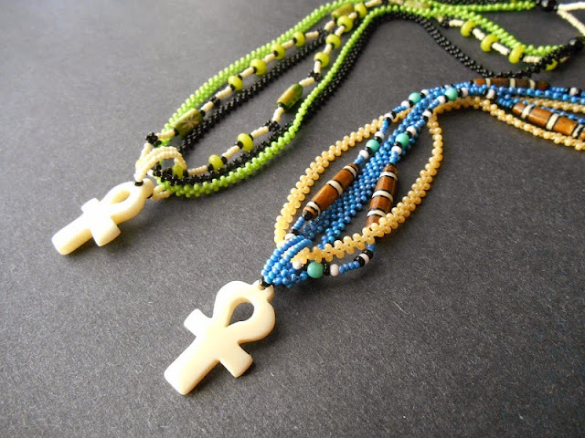 Multistrand Ankh Pendants