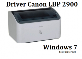 download Canon LBP 2900 for Windows 7 32 bit printer's driver