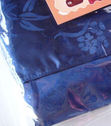กางเกงแพรจีนแท้รุ่นเอวยาง สีน้ำเงิน (กางเกงผู้ชาย กางเกงนอนผู้ชาย )