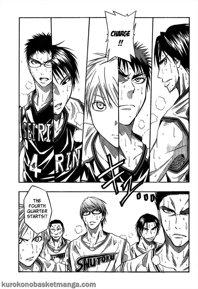 Kuroko no Basket Manga Chapter 33 - Image 03