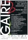 Cartel V Festival Gaire