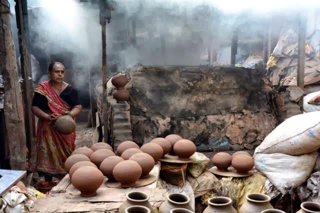 Potter, Dharavi Slum, India