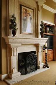 Architecture, Fireplaces, Interior, Natural Stone Fireplaces, Overmantels, Surrounds