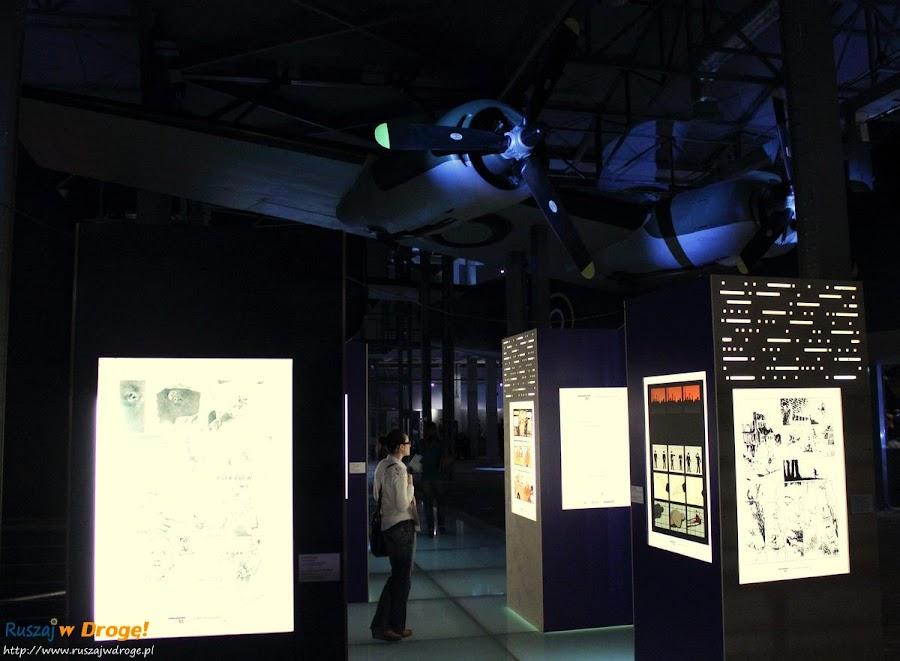 muzeum powstania warszawskiego - wystawa komiksu powstańczego