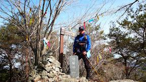 110305-영알6구간 (송림휴게소-비학산-보두산-낙화산-중산-백암삼-용암봉-육화산-구만산장)