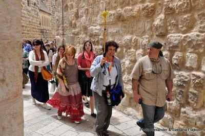 Экскурсия Старый Город Иерусалима. Сионская Горница. Гид в Израиле Светлана Фиалкова.