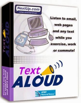 NextUp TextAloud 3.0.57 - Tu PC lee por ti