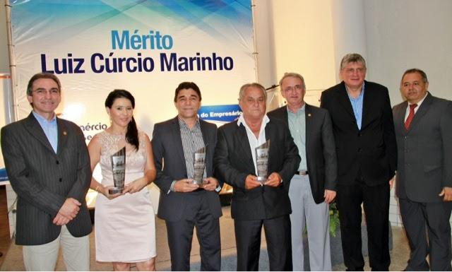 Macaíba: Fecomércio homenageia empresários com Mérito Luiz Cúrcio Marinho