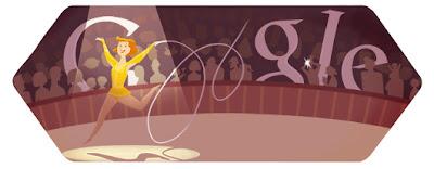 Google Doodle Rhythmische Sportgymnastik