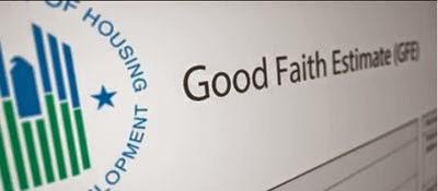 What is Good Faith Estimate?