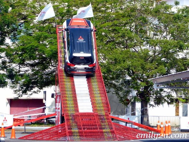 Mitsubishi Red Peak Challenge