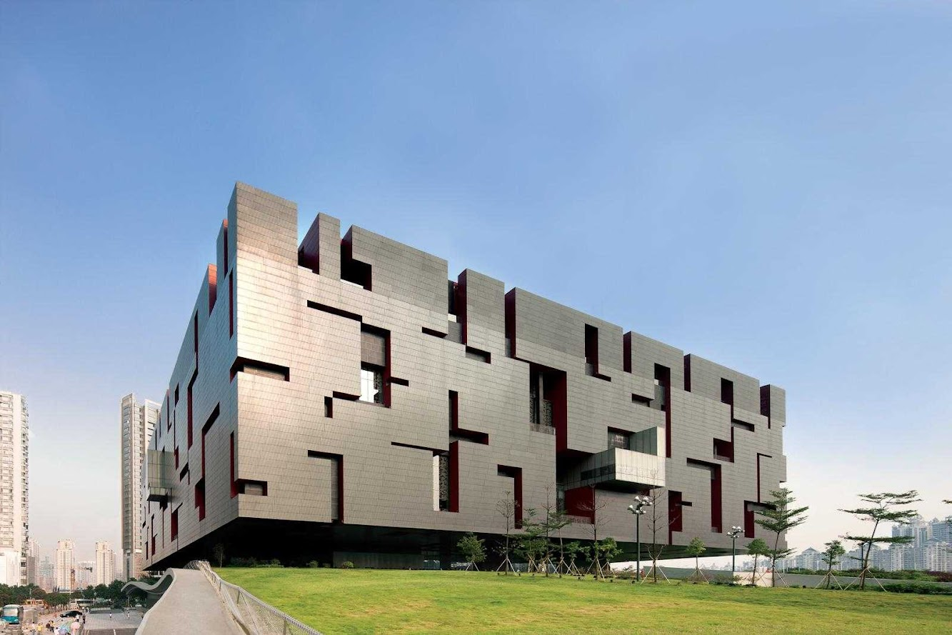 Guangzhou, Quantung, Cina: Guangdong Museum by Rocco Design Architects