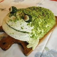 tort żaba