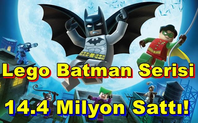 LEGO Batman Serisi Oldukça İlgi Gördü!