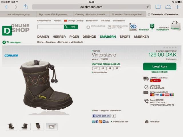98c27991e7c Til jer der skal bruge sko julegaver så skulle det være nemt at returnere -  og det kan også foregå i en af deres butikker :D igen en rigtig flot  service.