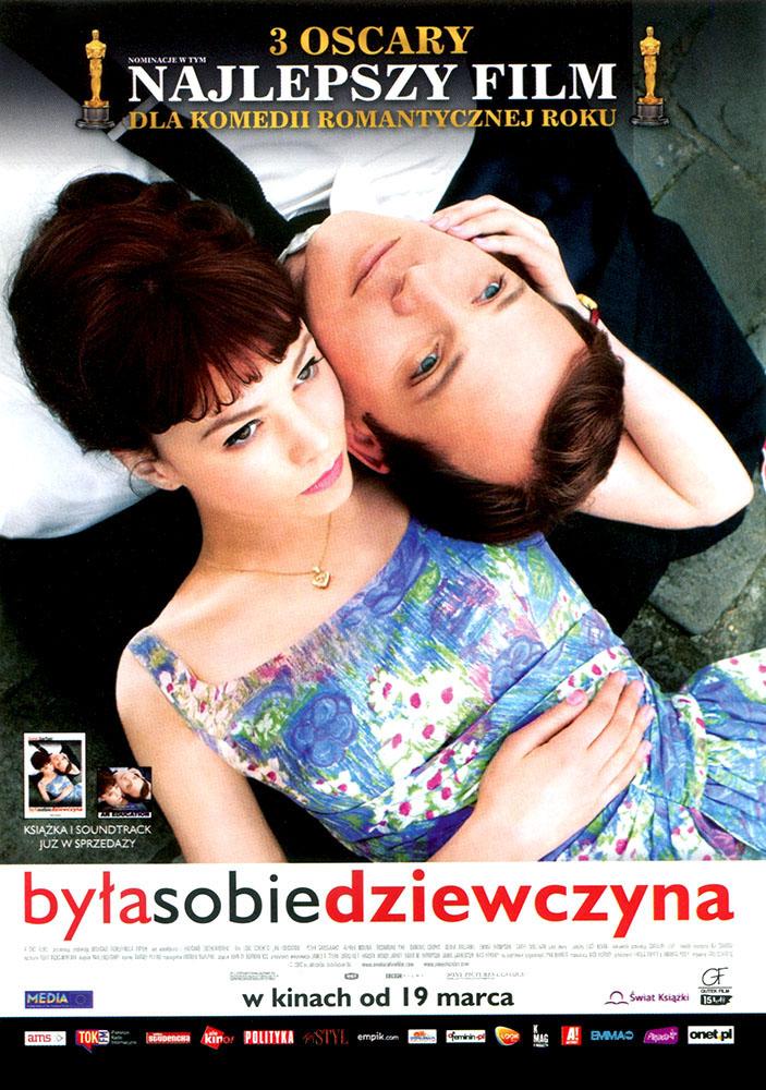 Ulotka filmu 'Była Sobie Dziewczyna (przód)'