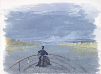 Priest Meditating, Ottawa River. July 18, 1866