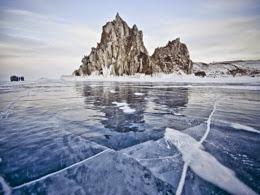 Olkhon lake Baikal