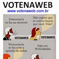 Vote nos projetos politicos