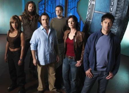 Teyla, Ronon, Beckett, Rodney, Weir, Sheppard