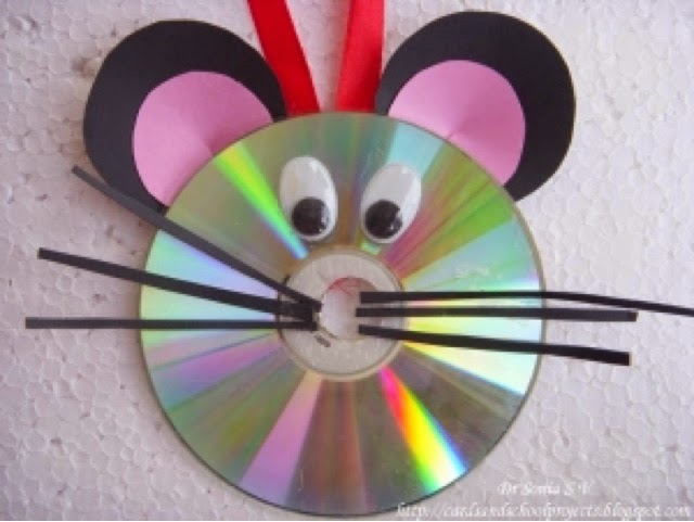 Escuelas viatorianas de espa a manualidades con cd para ni os - Manualidades con cds para ninos ...