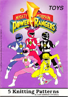 MIGHTY MORPHIN POWER RANGERS: 5 TOYS