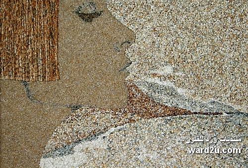 فسيفساء الرمل والقواقع والأصداف البحرية Svetlana Ivanchenko