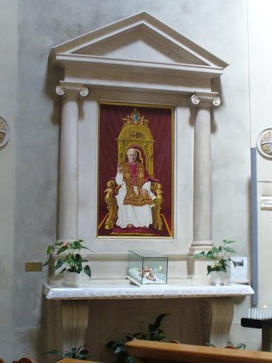 L'altare di san Pio X