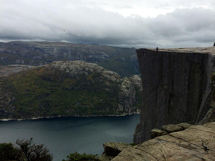 Pulpit Rock / Preachers Pulpit / Preikestolen (15 Scariest Hikes in the World).
