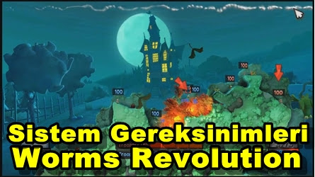 Worms Revolution PC Sistem Gereksinimleri