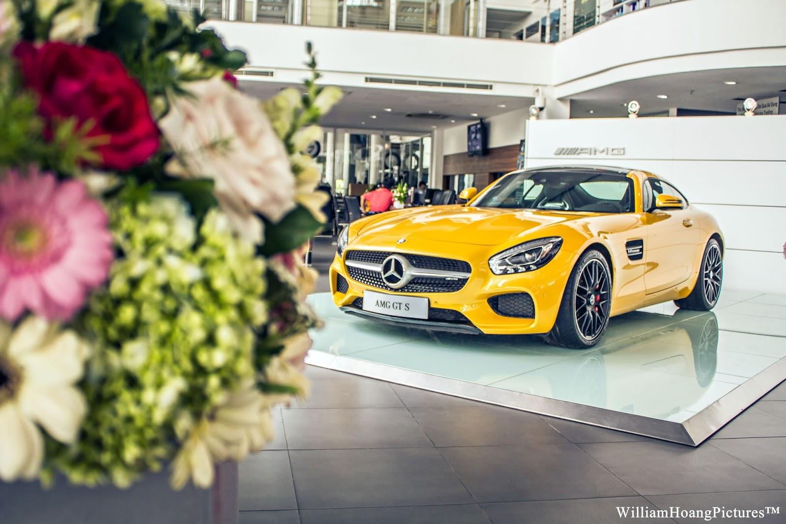 Mercedes-AMG GT S là siêu xe được rất nhiều người khao khát