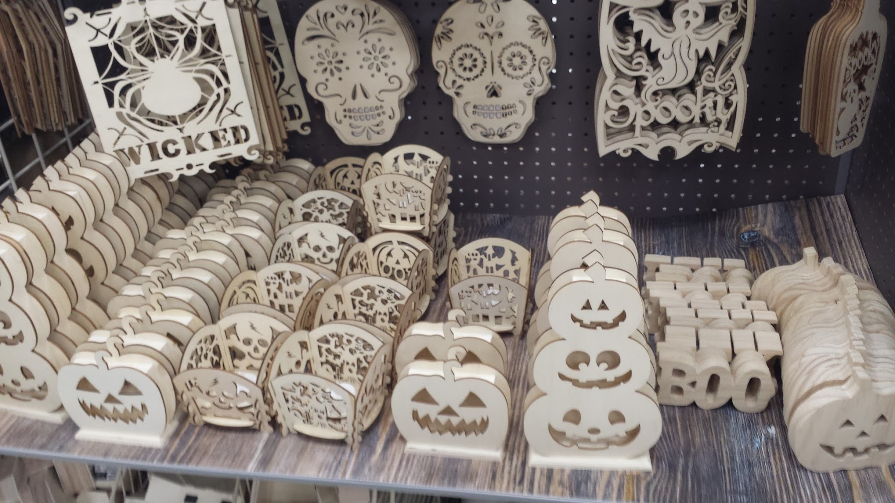 Halloween Decorations at Michaels