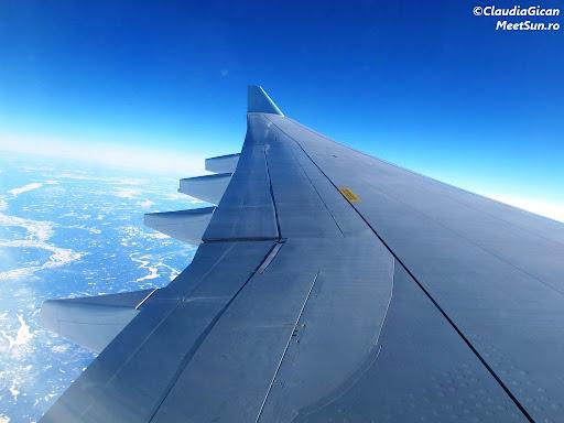 Canada - vedere din avion