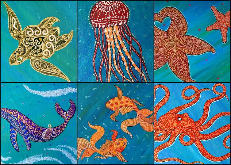 Henna Notecards