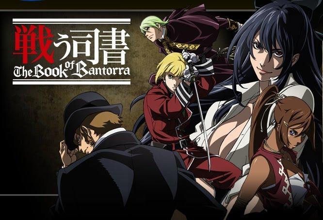 Anime Tatakau Shisho The Book Of Bantorra Fighting Librarian