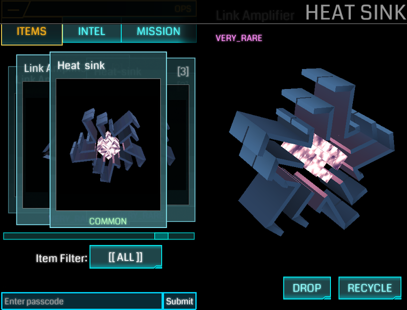 Heat Sink Ingress Portal Mod
