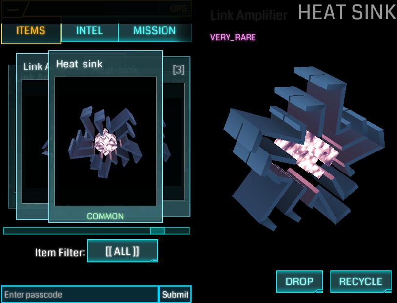 Heat Sink Ingress Portal Mod